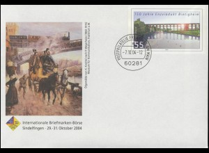USo 83 Sindelfingen-Börse Post und Eisenbahn 2004, VS-O Frankfurt 7.10.04