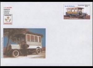 USo 96 NAPOSTA HANNOVER Kraftpost / Kraftfahrtomnibus 2005, **