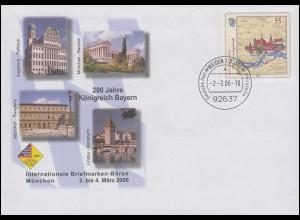 USo 113 Messe München - 200 Jahre Königreich Bayern 2006, VS-O Weiden 2.3.06