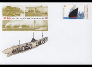 USo 124A Jubiläum 100 Jahre Unterseeboot U1 2006, **