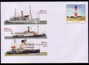 USo 148 100 Jahre Dampfschiff-Jubiläen 2008, **