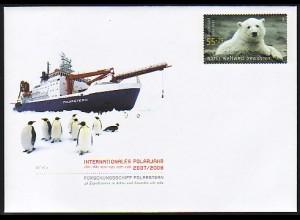 USo 154 Polarjahr 2007/08 - Eisbär Knut, **
