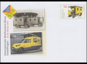 USo 307 Briefmarkenbörse Sindelfingen Postfahrzeug 2013, **