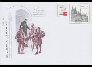 USo 312 Adolph Kolping und Kölner Dom 1913, EV-O Bonn 5.12.13