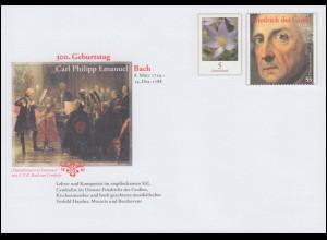 USo 321 Carl Philipp Emanuel Bach - Friedrich der Große 2014, **