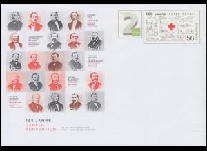 USo 332 150 Jahre Genfer Konvension - Rotes Kreuz 2014, **