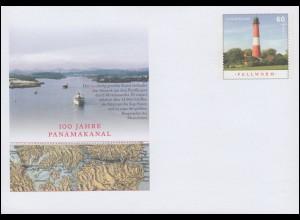 USo 333 100 Jahre Panamakanal - Leuchtturm Pellworm 2014, **