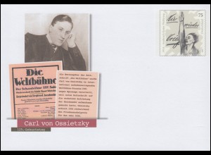 USo 343 Friedensnobelpreisträger Carl von Ossietzky 2014, **