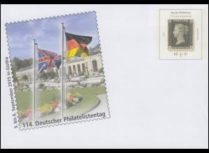 USo 371 Deutscher Philatelistentag Gotha 2015, **