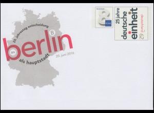 USo 403 Entscheidung für Berlin als Hauptstadt 2016, **
