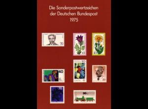 Jahrbuch Bund 1975, postfrisch ** wie verausgabt