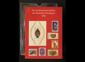 Jahrbuch Bund 1976, postfrisch ** wie verausgabt