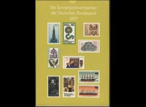 Jahrbuch Bund 1977, postfrisch ** wie verausgabt