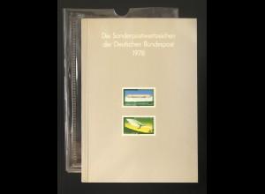 Jahrbuch Bund 1978, postfrisch ** wie verausgabt