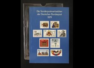 Jahrbuch Bund 1979, postfrisch ** wie verausgabt