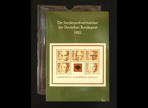 Jahrbuch Bund 1982, postfrisch ** wie verausgabt