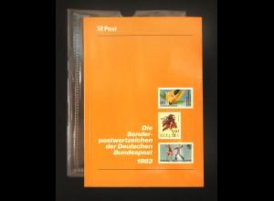 Jahrbuch Bund 1983, postfrisch ** wie verausgabt