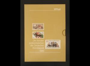 Jahrbuch Bund 1986, postfrisch ** wie verausgabt