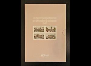 Jahrbuch Bund 1987 - ohne Korrektur-Blatt, postfrisch **