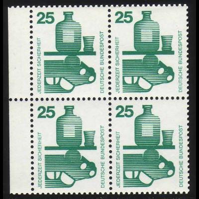HBl. 20 aus MH 15 Unfall 1971, postfrisch