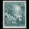 111 Bundestag 10 Pf postfrisch ** geprüft BPP