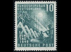 111 Bundestag 10 Pf postfrisch **