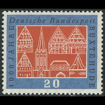 312w Buxtehude, glatte Gummierung, ** postfrisch