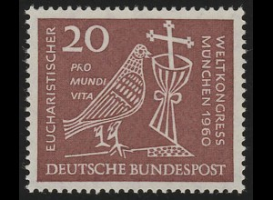 331 Eucharistischer Weltkongeß 20 Pf **