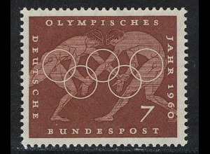 332 Olympische Sommerspiele 7 Pf Ringen **