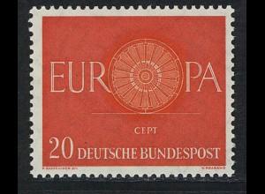 338 Europa 20 Pf Wagenrad **