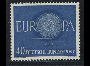 339 Europa 40 Pf Wagenrad **