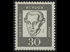 354 Bedeutende Deutsche 30 Pf ** Kant