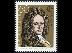 1050 Europa/CEPT 60 Pf Leibniz **