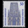 1340A v Sehenswürdigkeiten 50 Pf Freiburger Münster, **