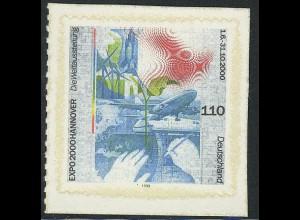 2112 EXPO 2000 Hannover SELBSTKLEBEND aus MH 40, **