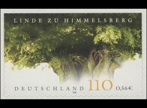 2217 Linde zu Himelsberg SELBSTKLEBEND aus MH 45, ** postfrisch
