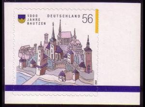 2245 Bautzen selbstklebend (aus MH 48), postfrisch **