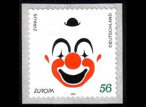 2272 Europa/CEPT Zirkus/Clown SELBSTKLEBEND **