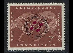 332 Olympische Sommerspiele 7 Pf Ringen O
