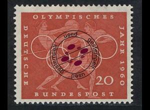 334 Olympische Sommerspiele 20 Pf Diskuswerfen O