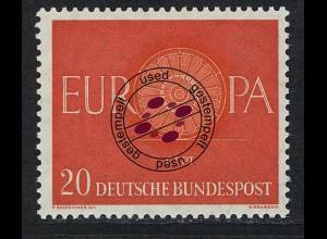 338 Europa 20 Pf Wagenrad O