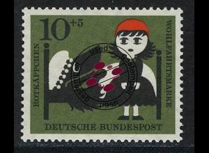 341 Wohlfahrt Brüder Grimm 10+5 Pf Rotkäppchen O