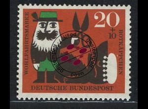 342 Wohlfahrt Brüder Grimm 20+10 Pf Rotkäppchen O