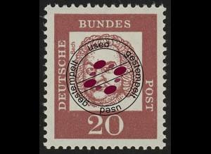 352 Bedeutende Deutsche 20 Pf O Bach