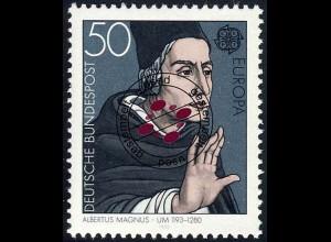 1049 Europa/CEPT 50 Pf Albert Magnus O