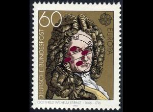 1050 Europa/CEPT 60 Pf Leibniz O