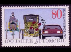 1268 Automobil O gestempelt