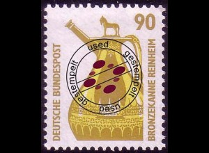 1380 Sehenswürdigkeiten 90 Pf Bronzekanne O