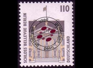 1935A Sehenswürdigkeiten 110 Pf Schloß Bellevue Berlin, O