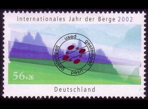 2231 Umweltschutz Berge O gestempelt